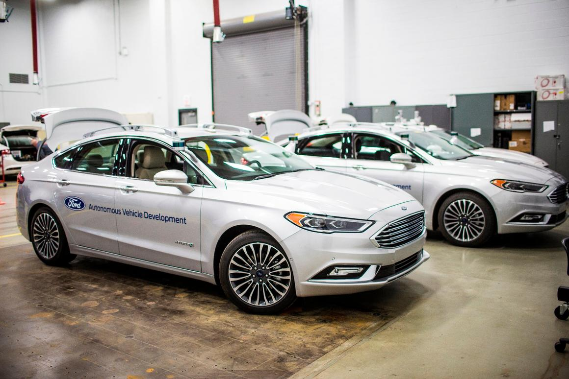 Ford has made the roof sensors on the Fusion self-driving tester slimmer