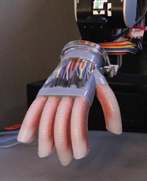 The creation of the artificial hand relied on a 3D fabrication technique that Cornell has successfully employed in making other artificial body parts