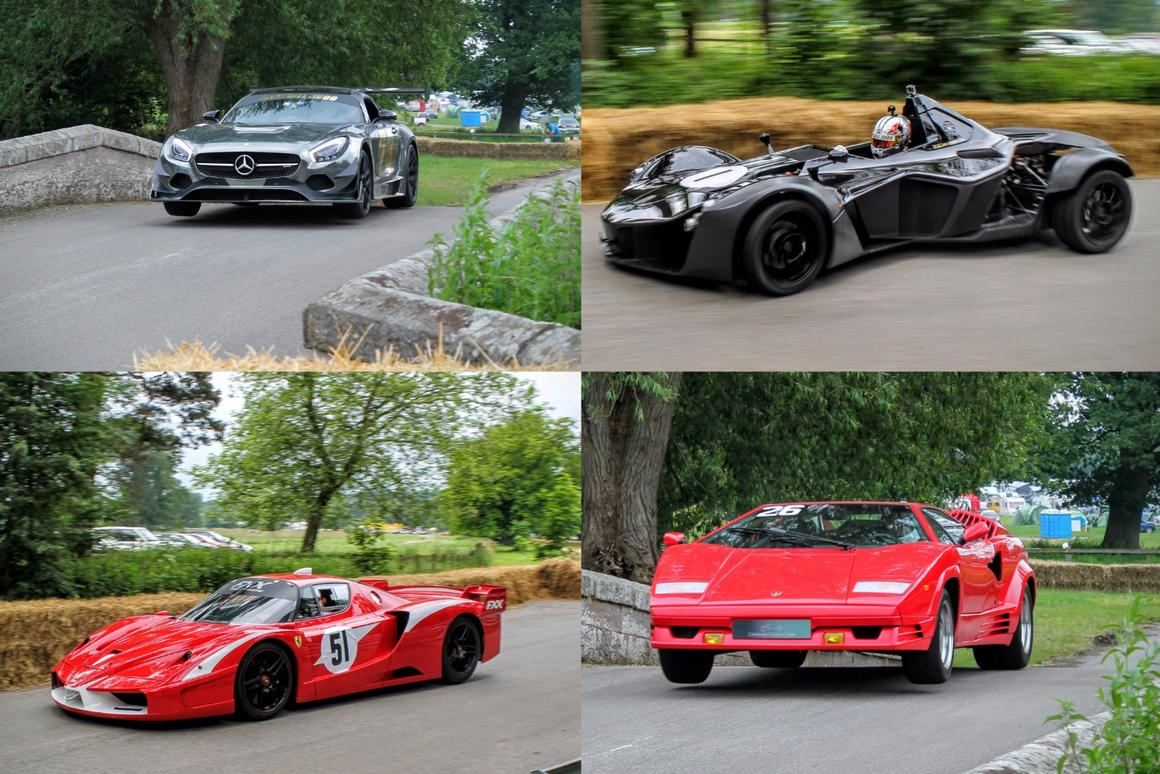 """The theme of Cholmondeley Power and Speed 2016 was """"supercars: past, present and future"""""""