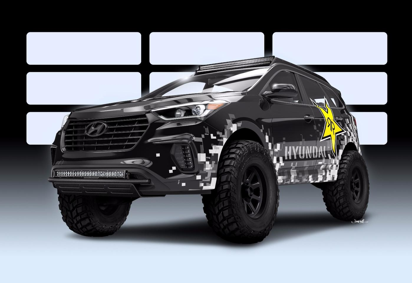 The RPG Hyundai Santa Fe will be among the wild tunes of SEMA 2016