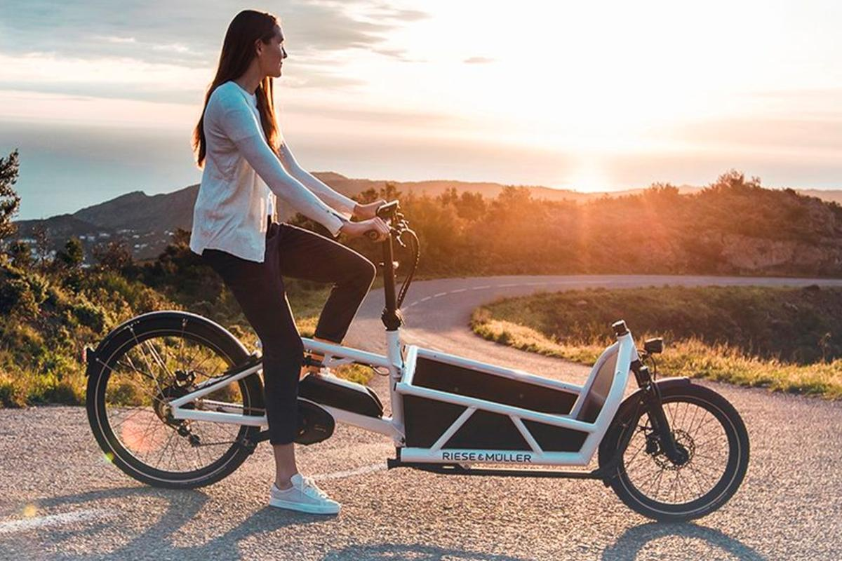 The Riese & Muller Load cargo e-bike