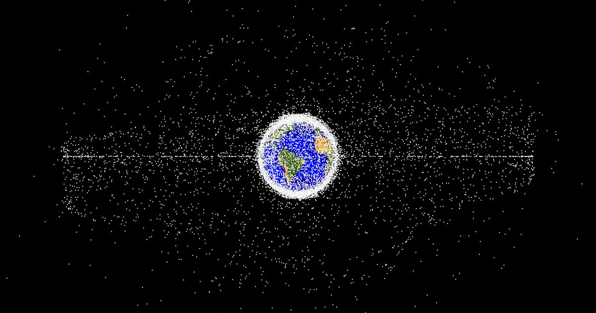 Over 75% of space debris detected in new survey is unknown objects