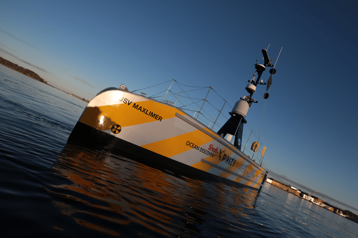 The GEBCO-NF's mapping vessel undergoes field testing