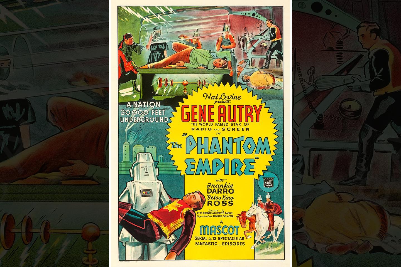 PendantNecklace With Mid-Century Sci-Fi Comic Art Image