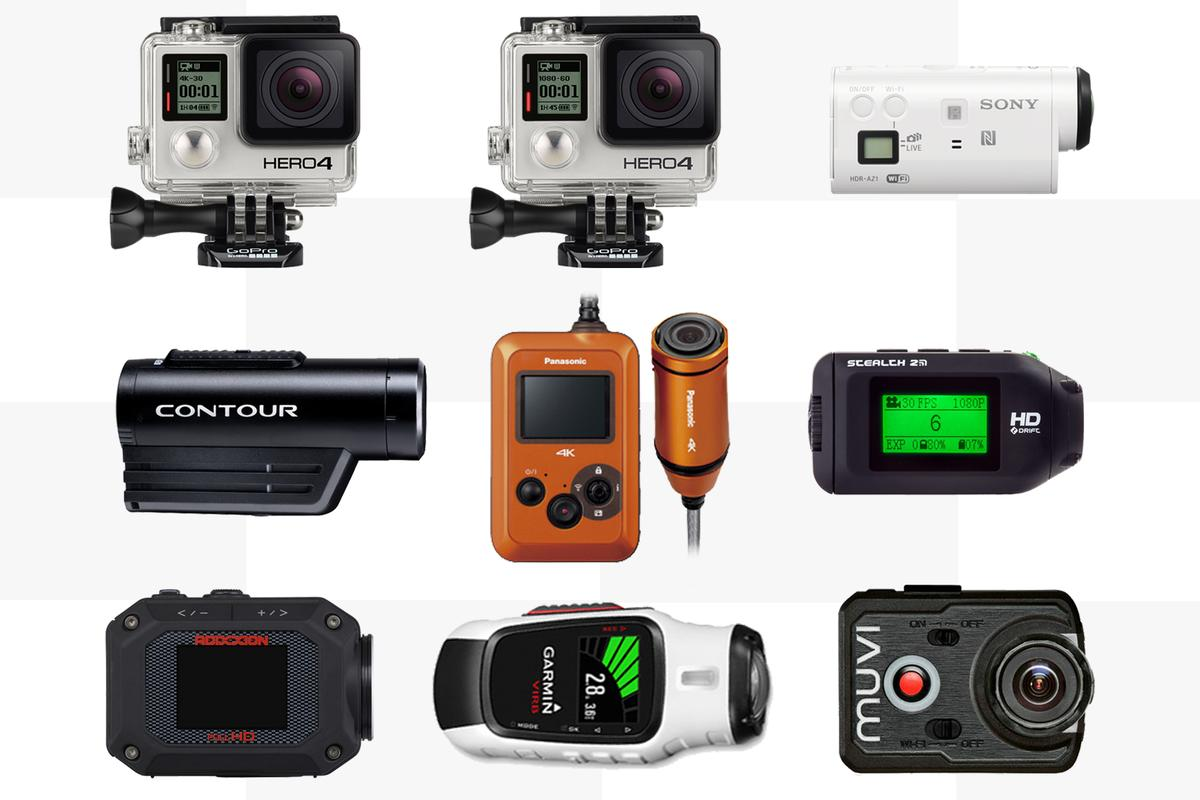 Gizmag compares the specifications and features of some of the best action cameras