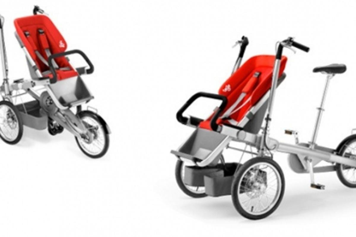 The Taga multi-functional stroller