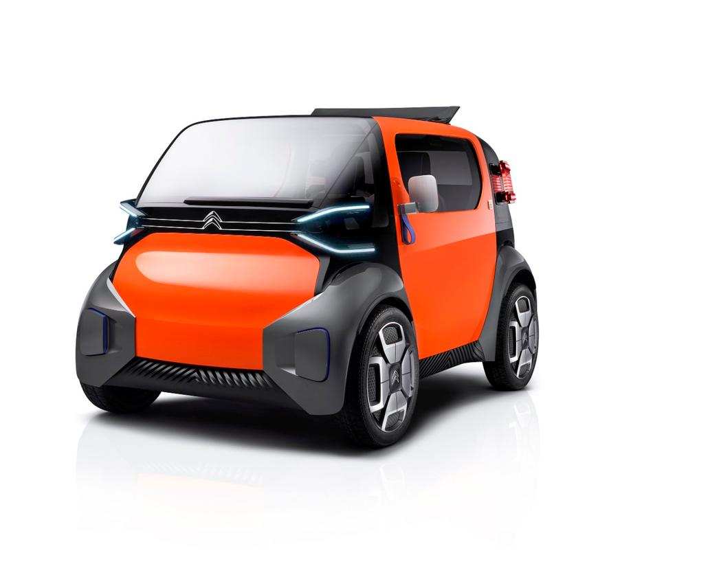 One of the driving factors behind the design of Citroën's Ami One concept was to create a vehicle that was widely accessible