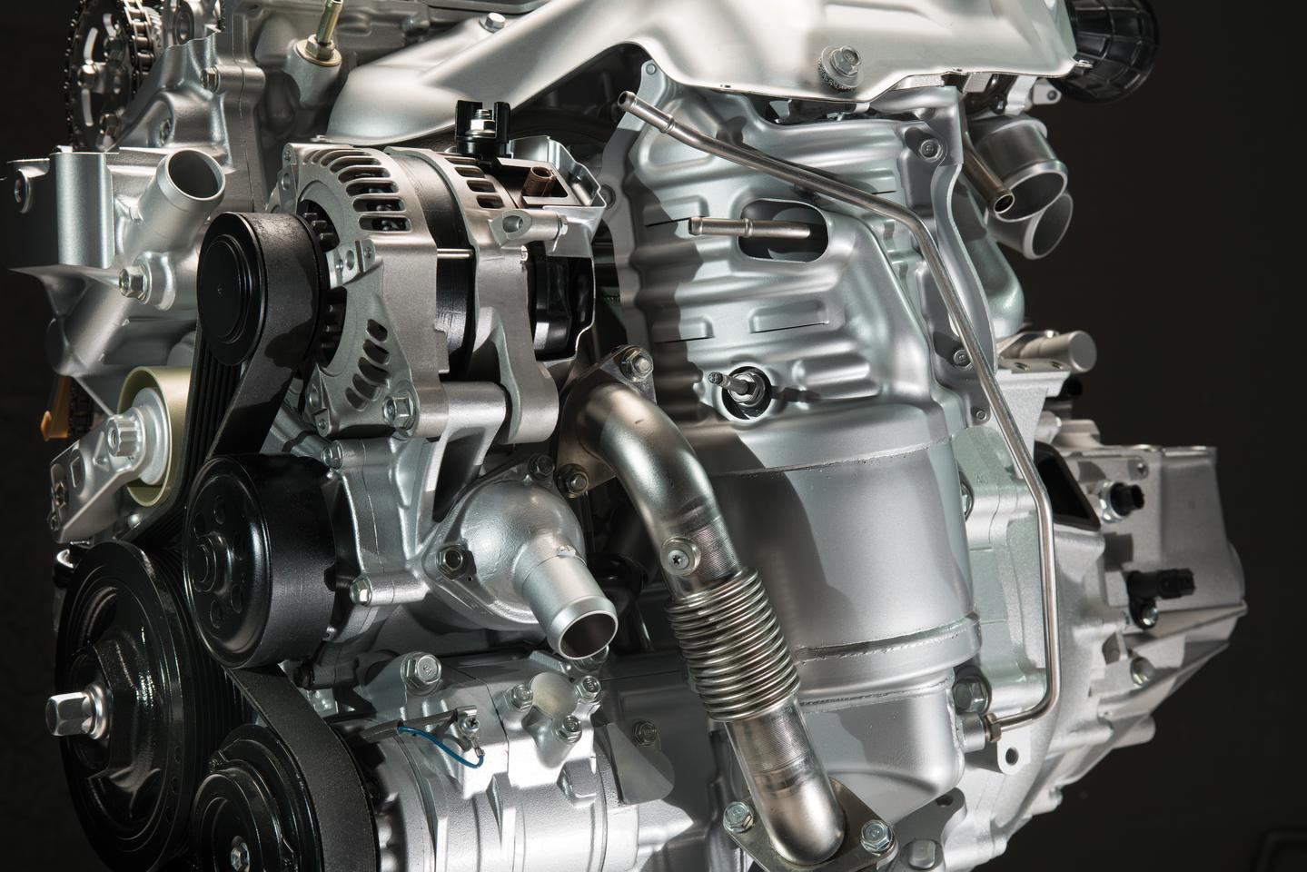 The 1.6-liter i-DTEC engine EGR system
