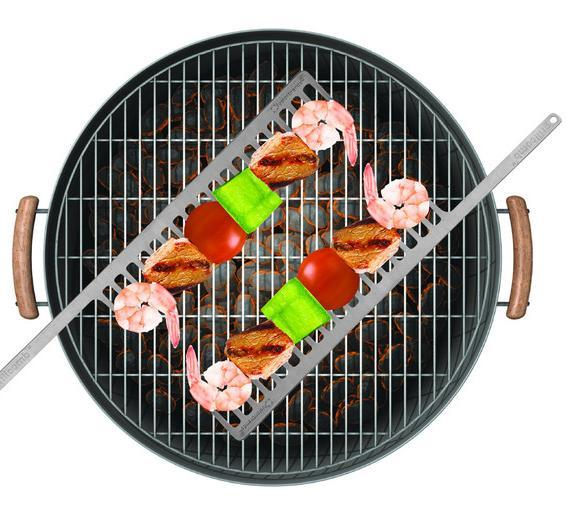 No more raw food, GrillComb rotates everything evenly