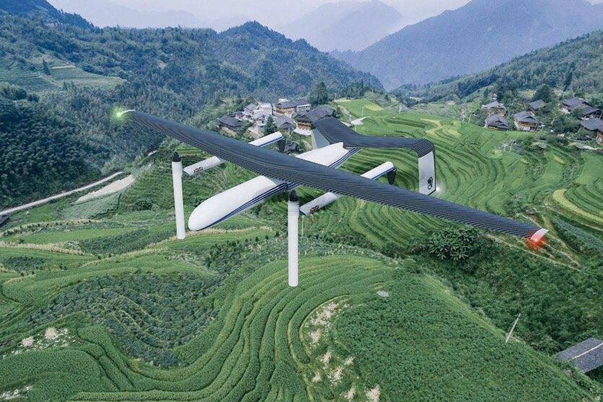 The WirthResearch drone that is currentlyin development