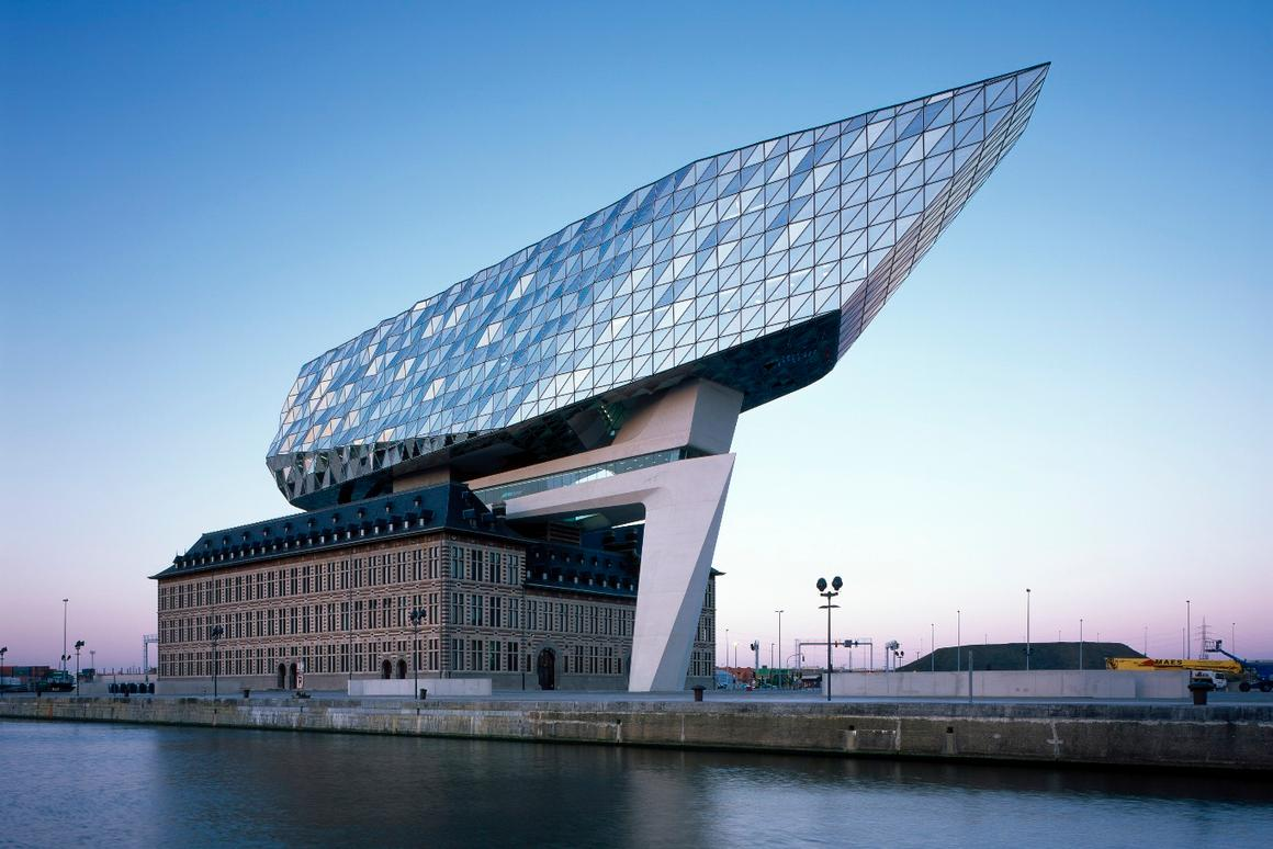 Antwerp is Europe's second-largest shipping port, serving 15,000 sea trade ships and 60,000 inland barges each year