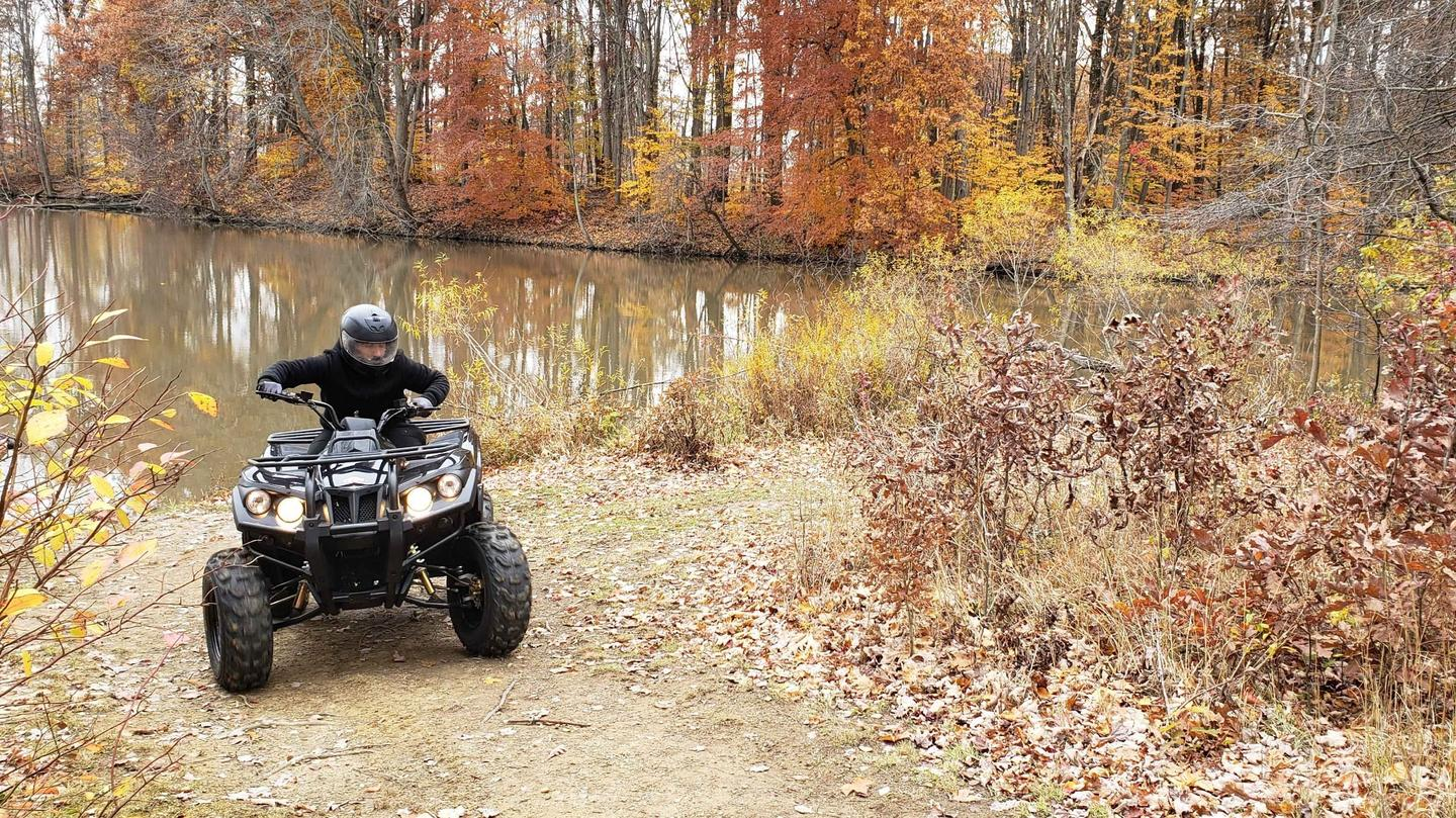 The Stealth electric ATV has been developedfor search and rescue personnel