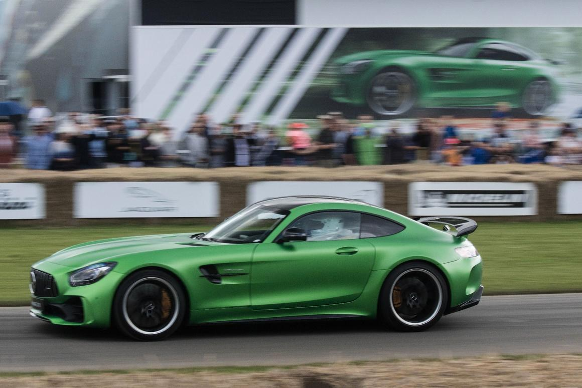 The Mercedes-AMG GT R debuts at the Goodwood Festival of Speed