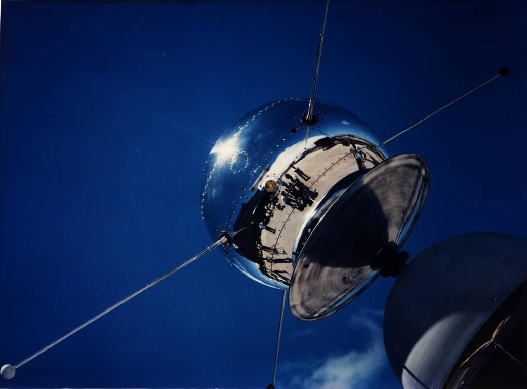 Vanguard was supposed to be the first US satellite