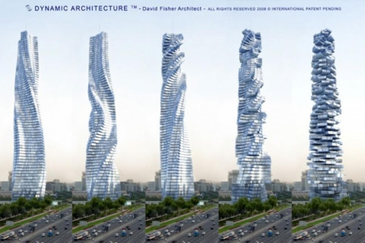 Dynamic Tower DubaiImage: Dynamic Architecture