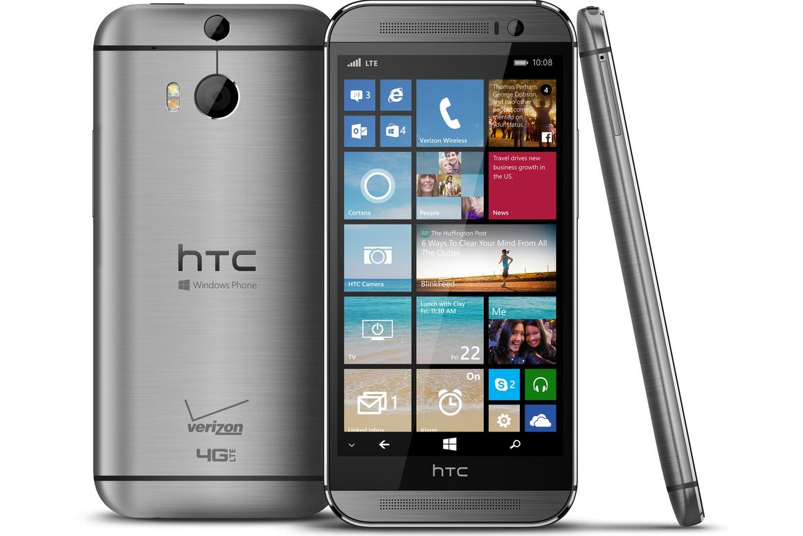 Today HTC launched a Windows Phone-running version of its excellent One (M8) handset