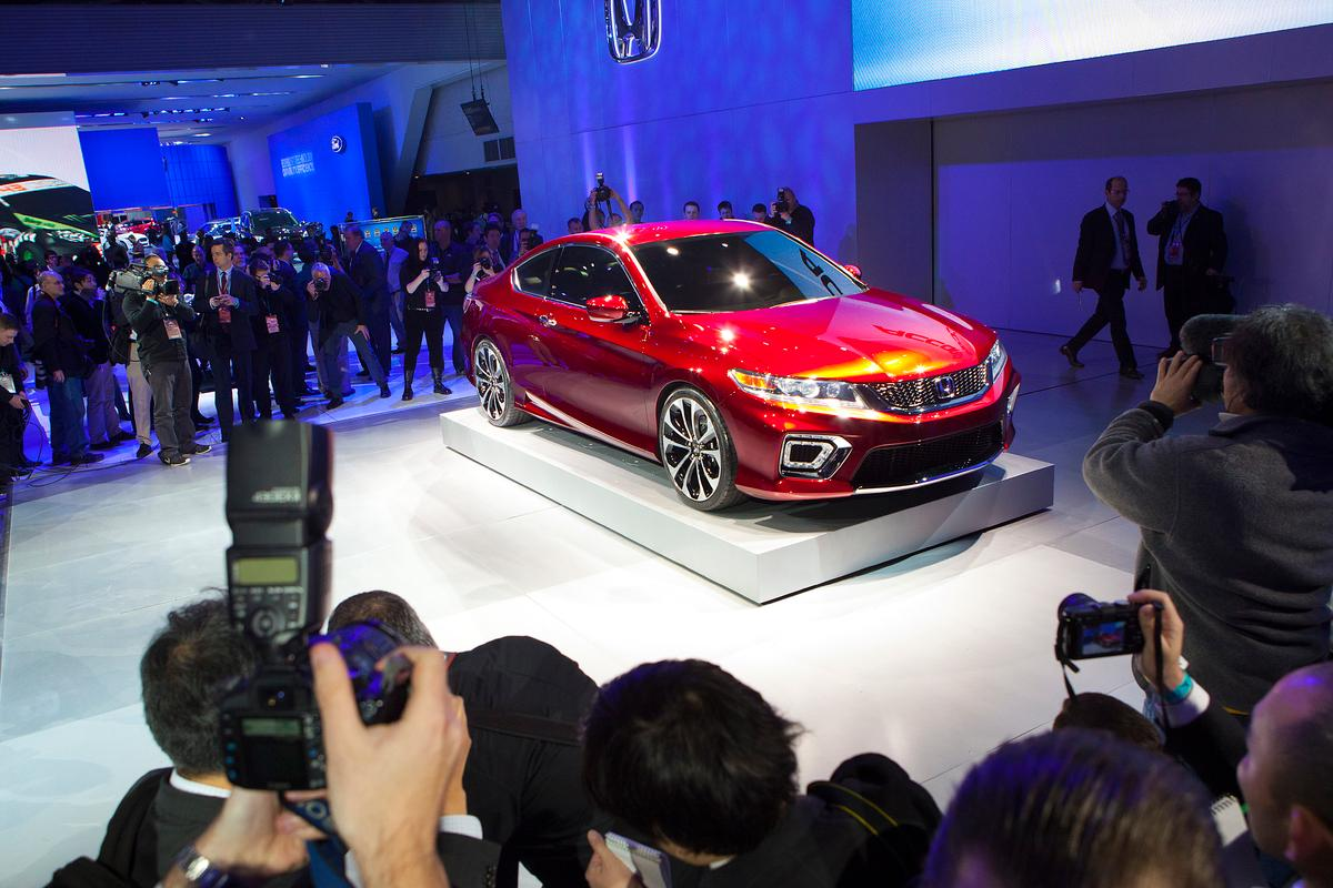 The Honda Accord Coupe Concept in Detroit
