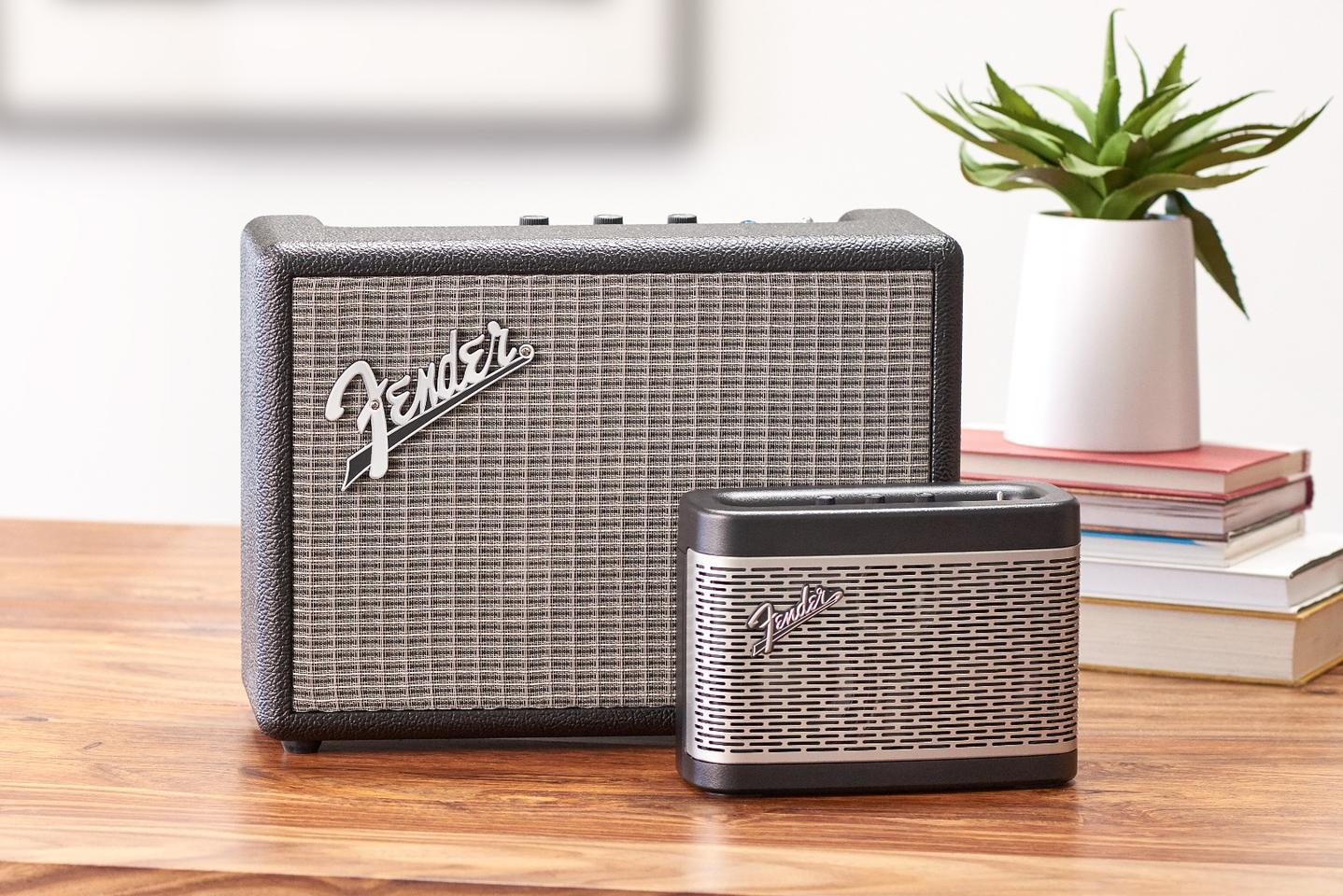 Fender's debut bluetooth speakers, the Newport and the larger Monterey