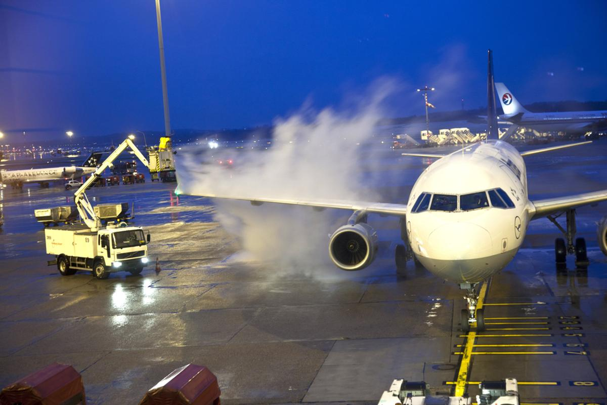 The technology could be a replacement for commonly-used de-icing solutions