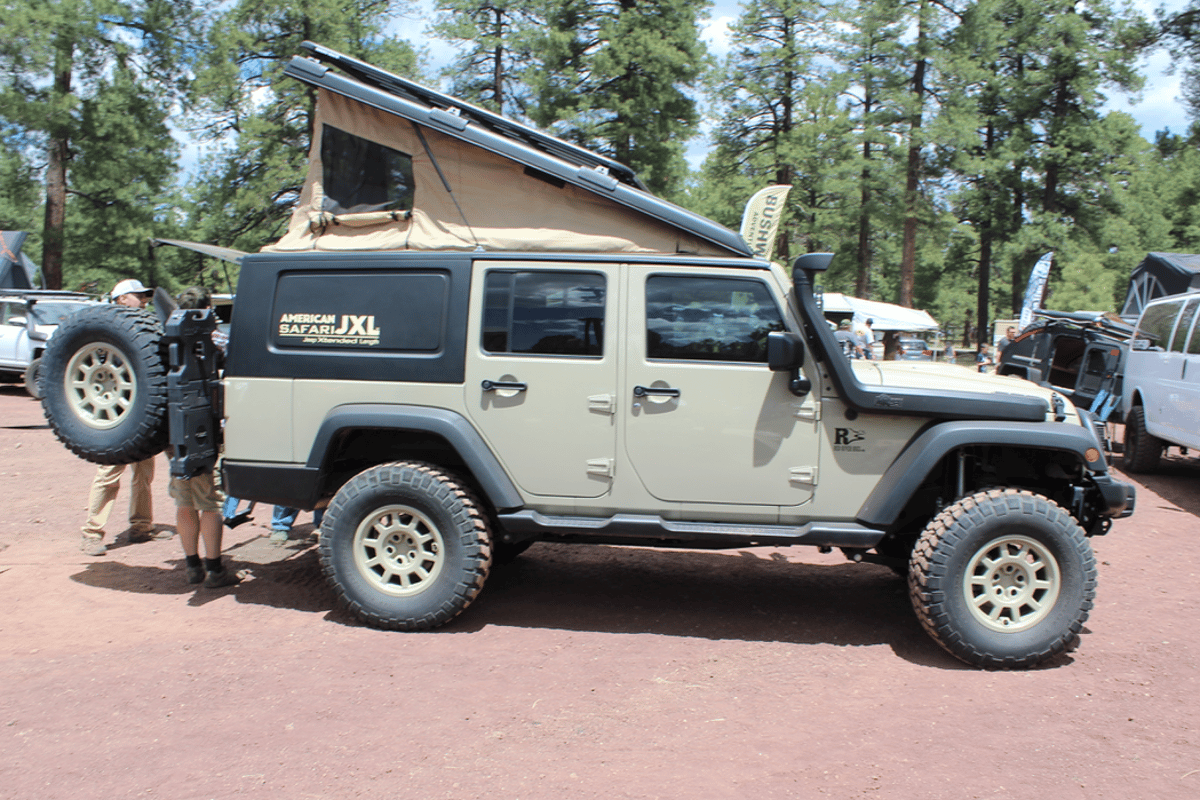 Red River Rigs debuts the American Safari JXL at Overland Expo West 2018