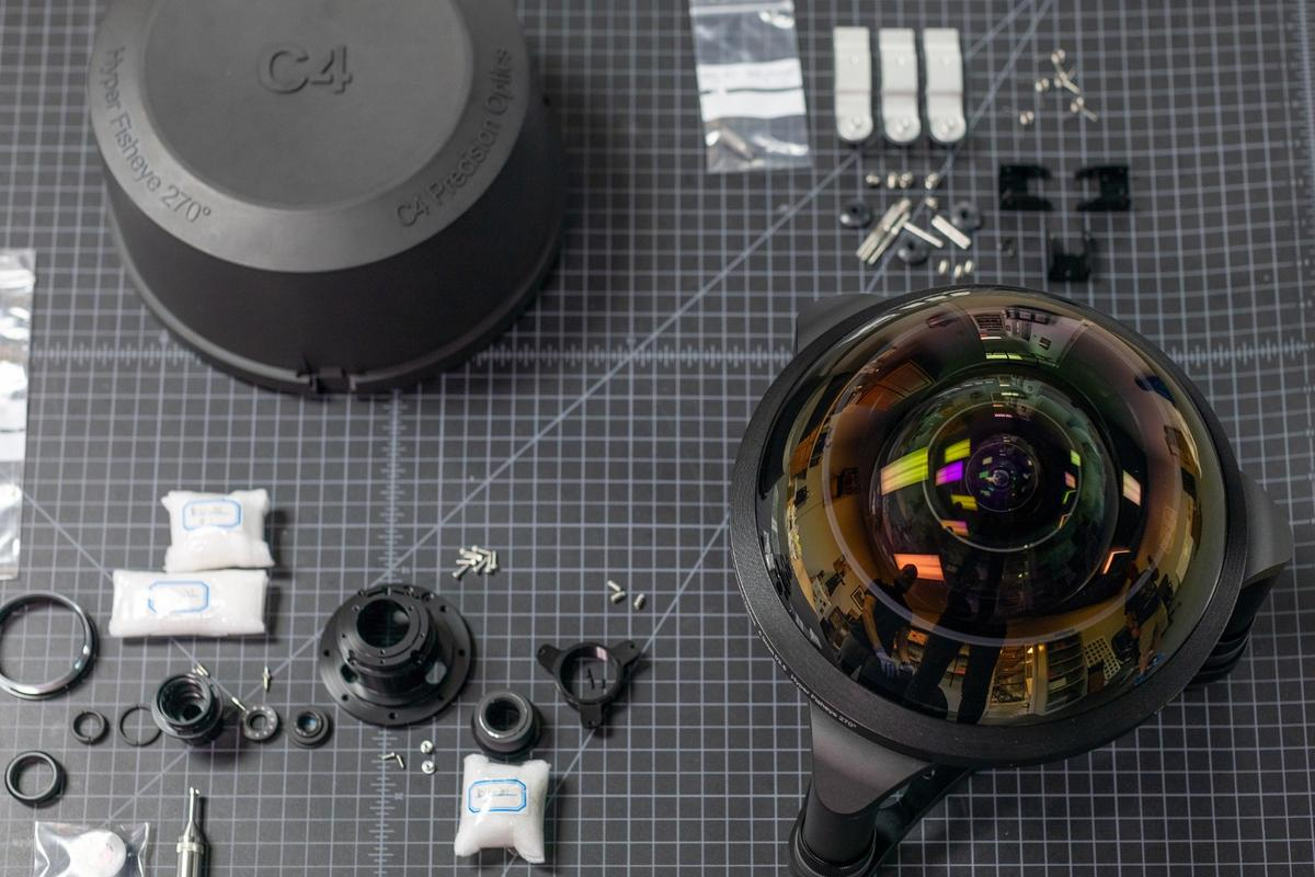 C-4 Precision Optics is working on a bunch of extreme optics lenses, but this one's probably the most fun of all
