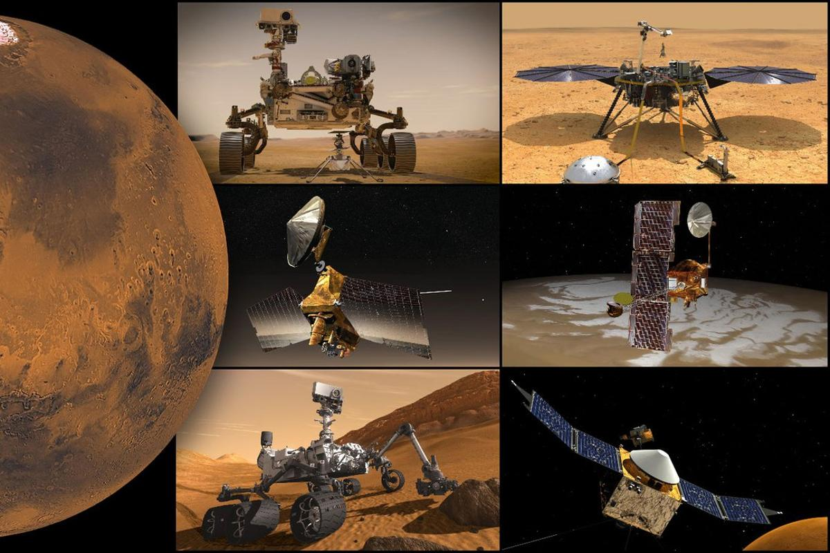 NASA's Mars missions will pause as the Red Planet moves in line with the Sun