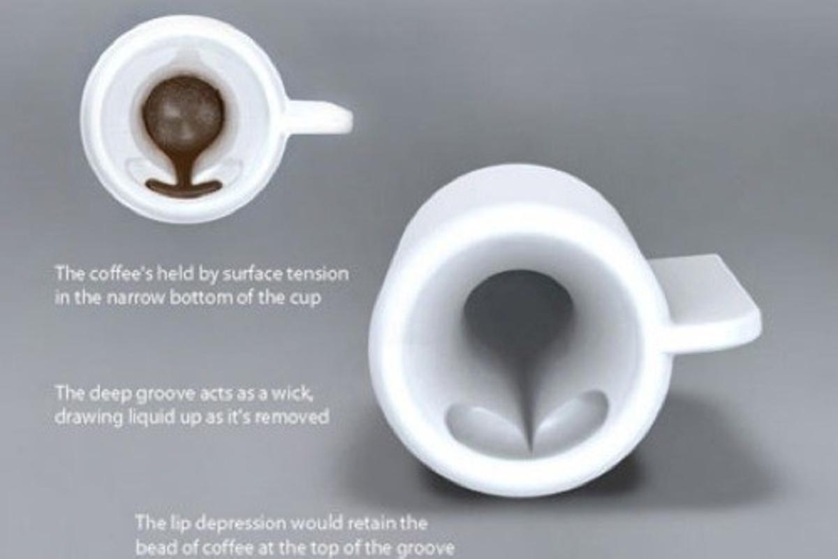 Designer Travis Baldwin's impression of the On-Orbit cup