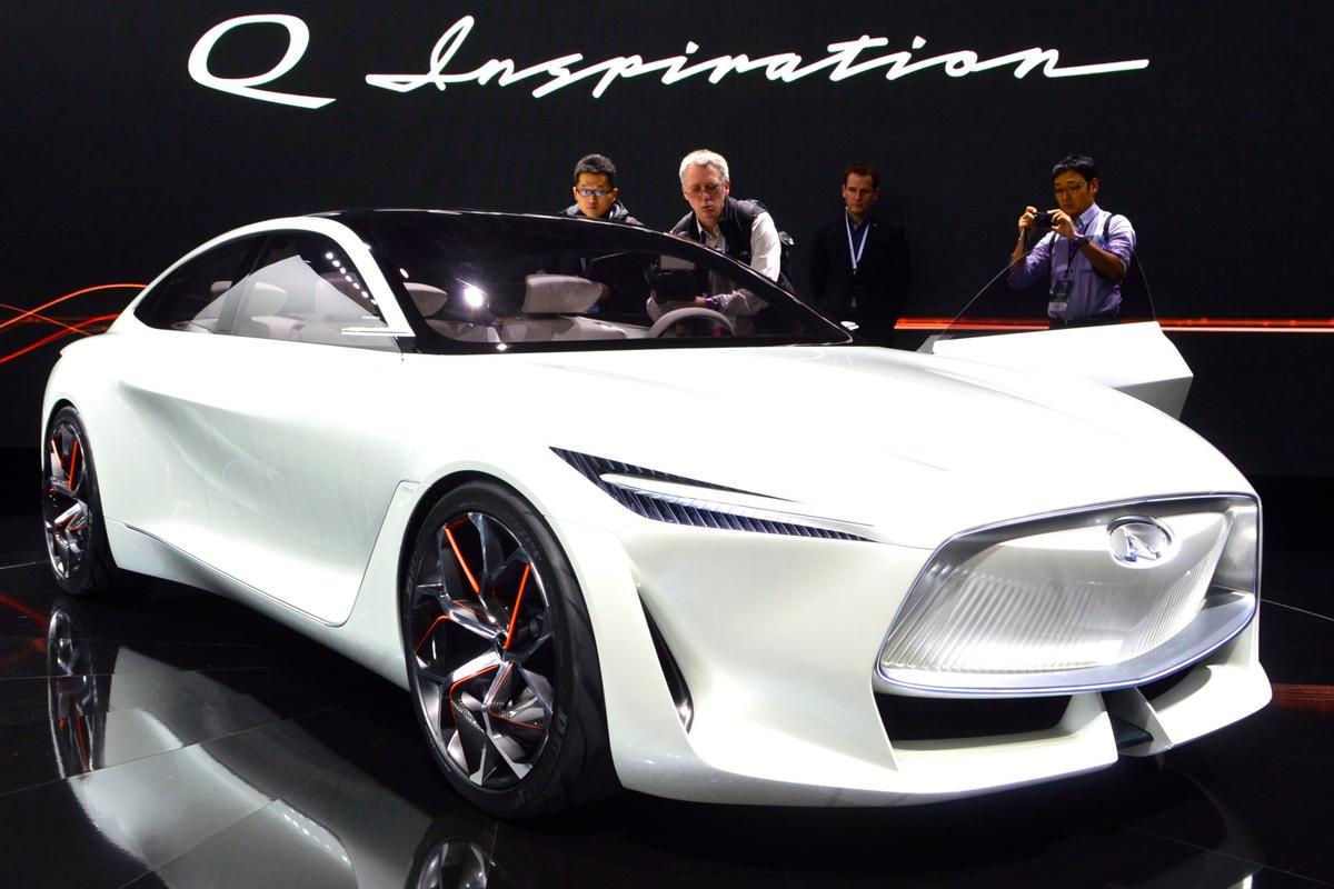 Infiniti S Q Inspiration Concept Showcases A New Era Of Design
