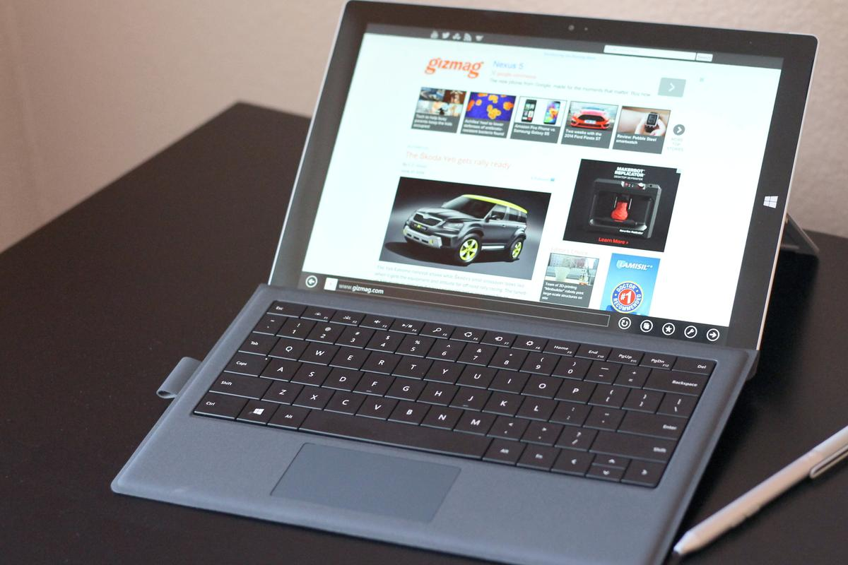 Gizmag takes a first look at the Microsoft Surface Pro 3