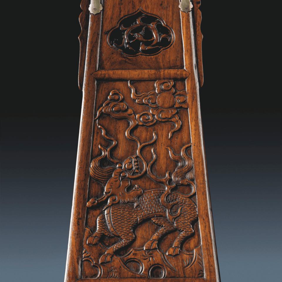 17th Century Chinese Folding Horseshoe-Back Jiaoyi