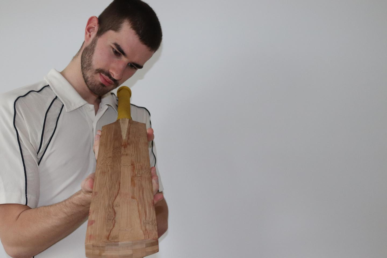 Ben Tinkler-Davies examines one of the bamboo bats