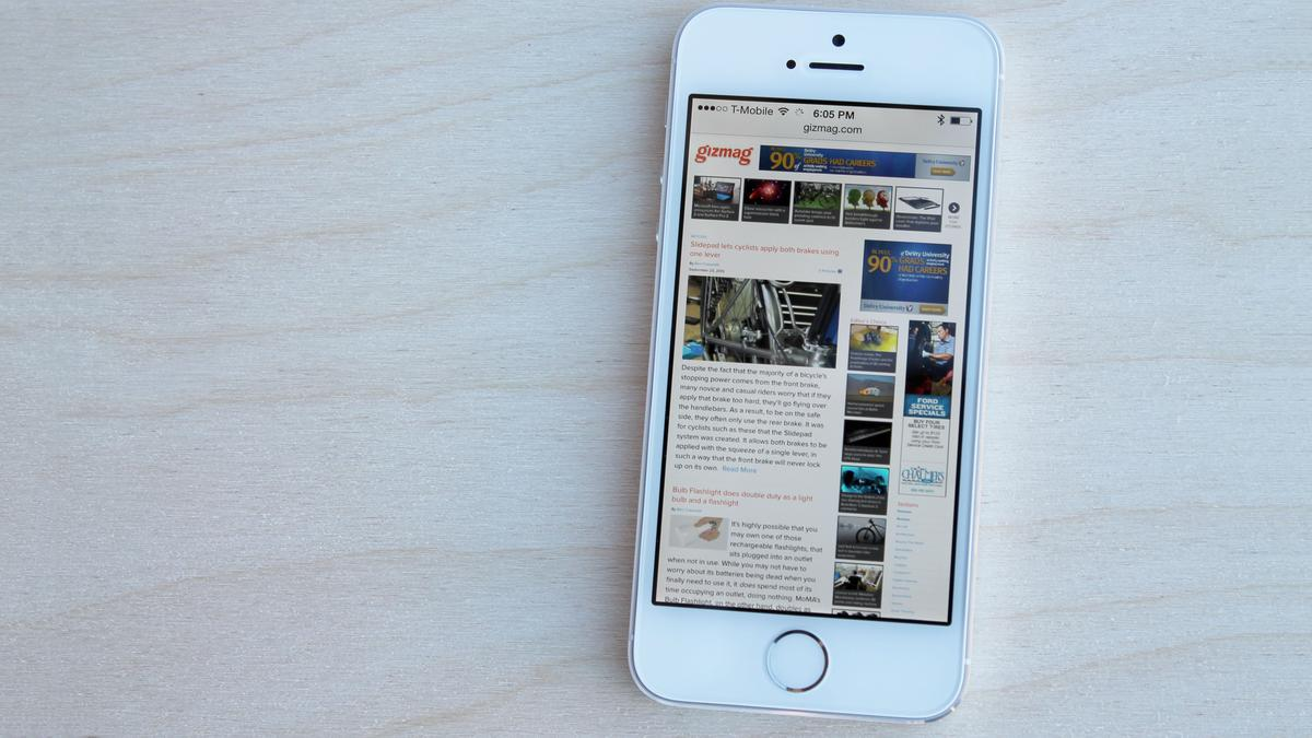 The iPhone 5s is Apple's latest S-series update