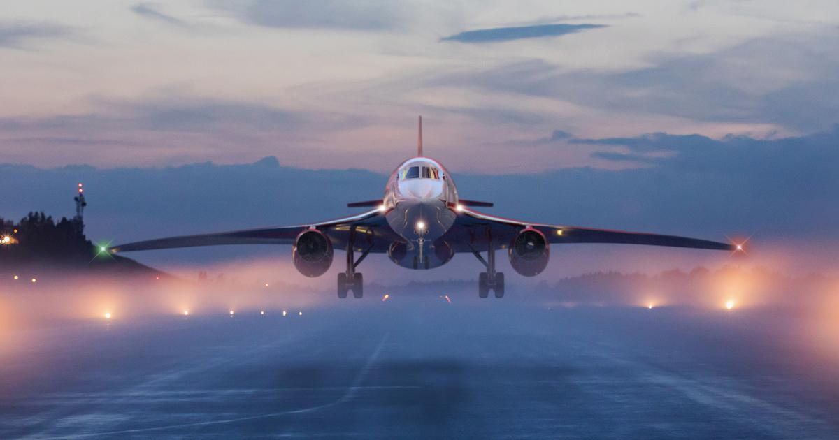 "The ""perfect storm"" behind Aerion's supersonic business jet"