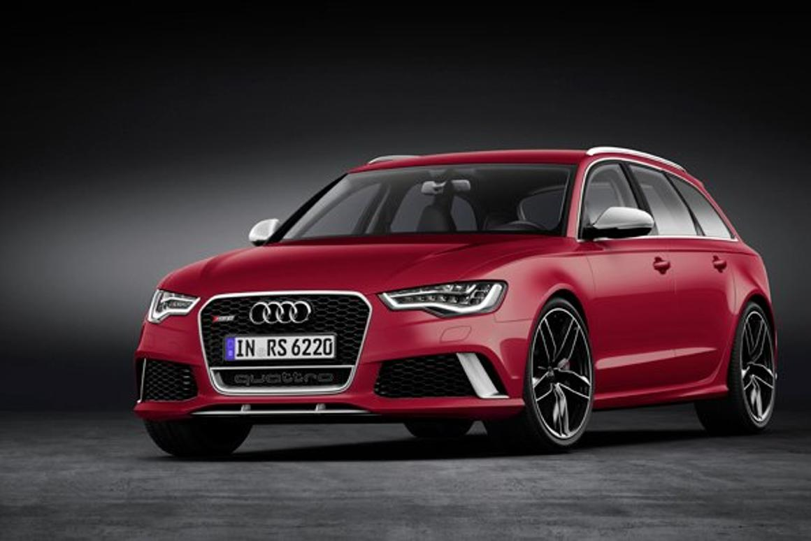 The front of the 2014 RS 6 Avant