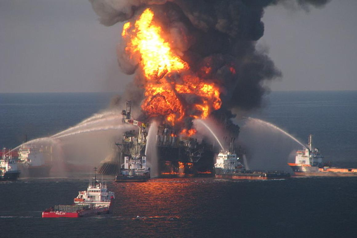 BP's Deepwater Horizon oil well