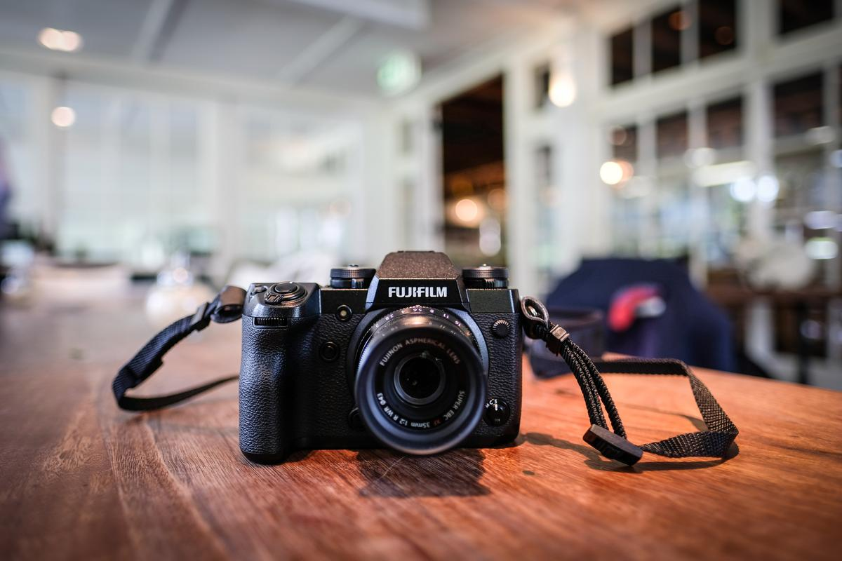 Fujilfilm bills the X-H1 as its ticket into the sports-action photography arena