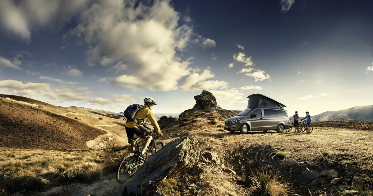 Mercedes adds tech and air (but no e-drive) to entry-level camper van
