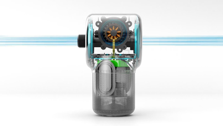 The inner workings of the Shower Power speaker