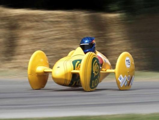 The Type 119 B (2003) was a previous iteration of the Lotus Soapbox design