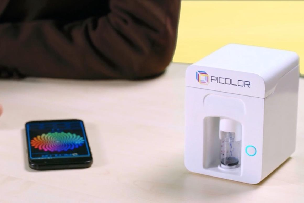 The creators of Picolor are presently raising production funds on Kickstarter