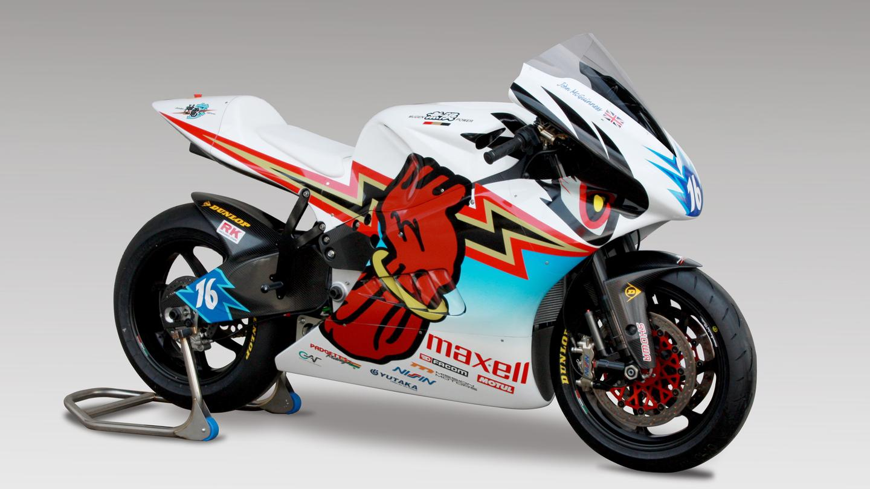 The 2014 Mugen Shinden San electric racebike