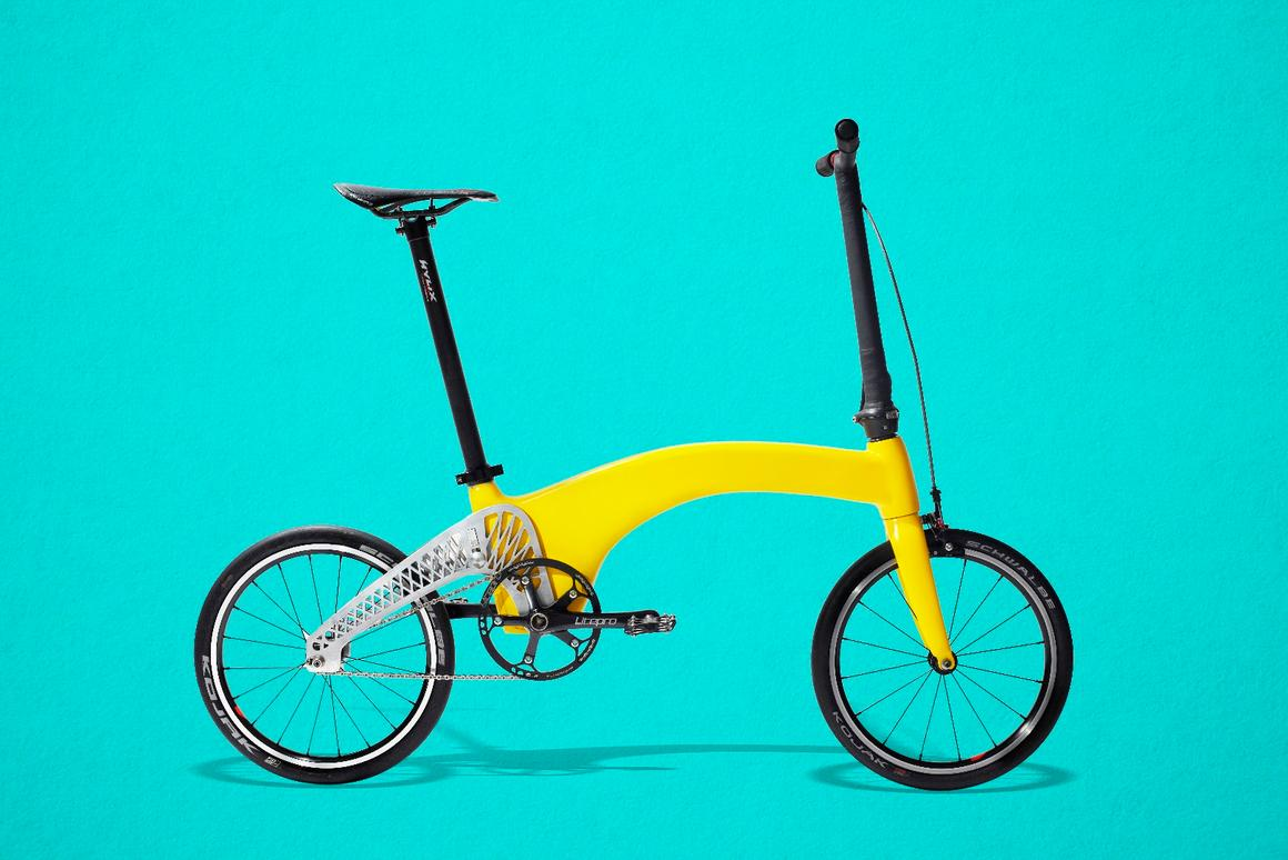 The Hummingbird is light, but its creator still wants it to be good to ride