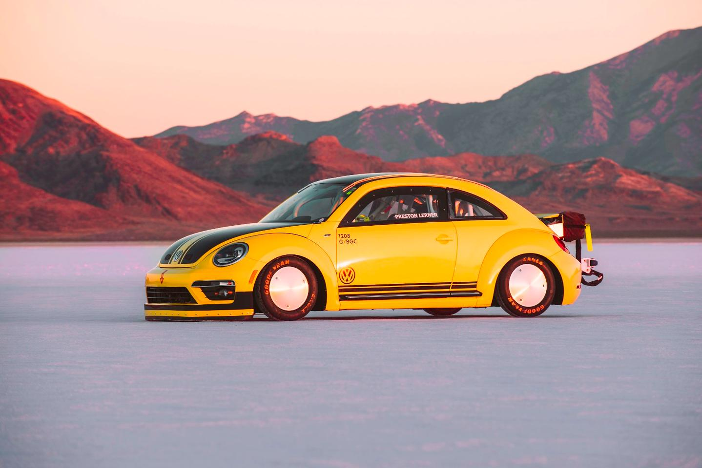 Areworked engine gives this VWBeetle 543 hp and 421 lb-ft