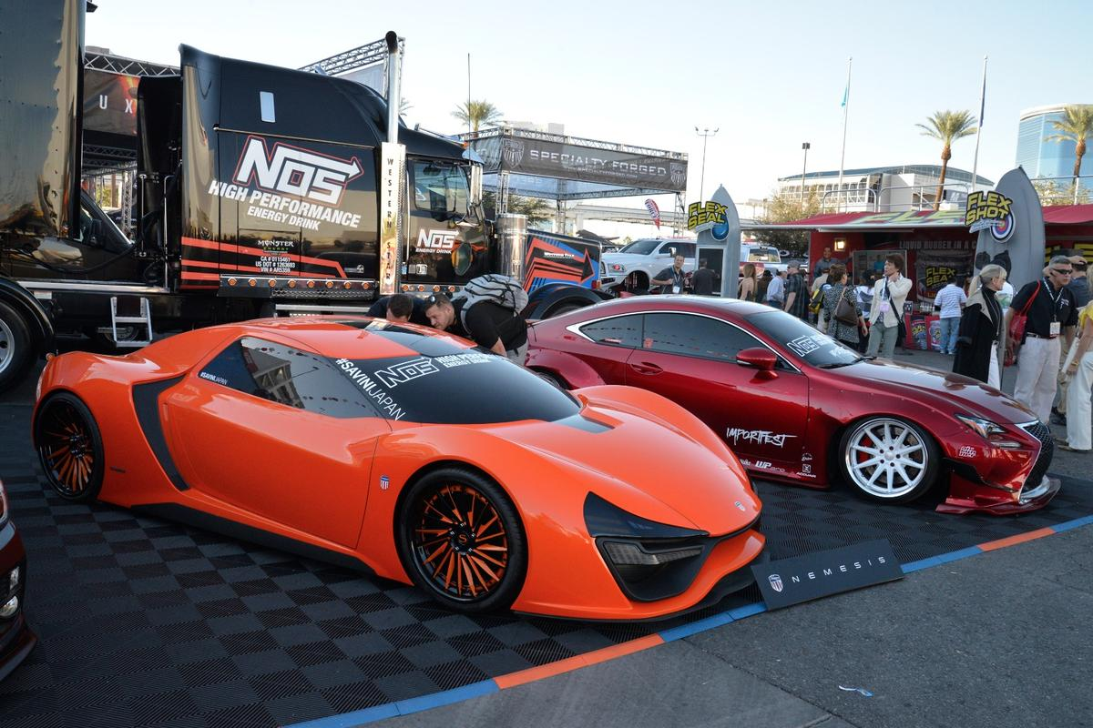 The sports cars of SEMA2016