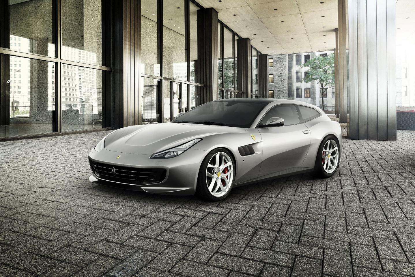 Ferrari introduces the all-new GTC4Lusso as its first four-seater with turbo V8