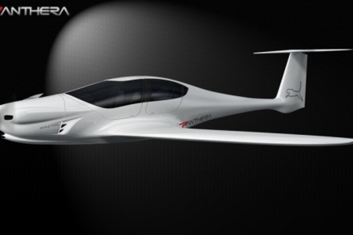 The new Pipistrel Panthera serves as a blank slate in a competition asking artistic types to design the aircraft's livery