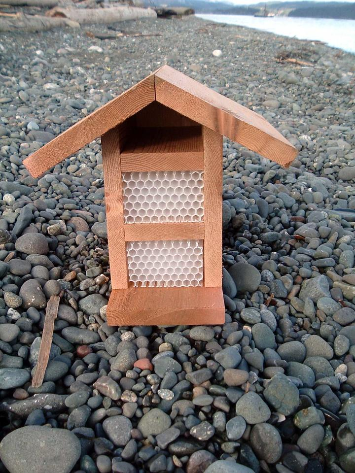A beehouse from Mason Bee Homes