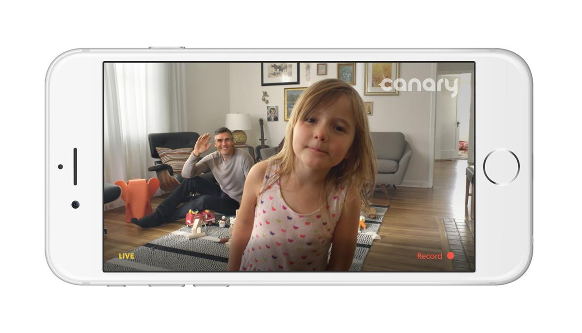 The Canary can be used for family monitoring