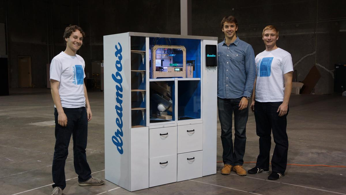 The first Dreambox 3D printing vending machine will be installed at UC Berkeley later this month