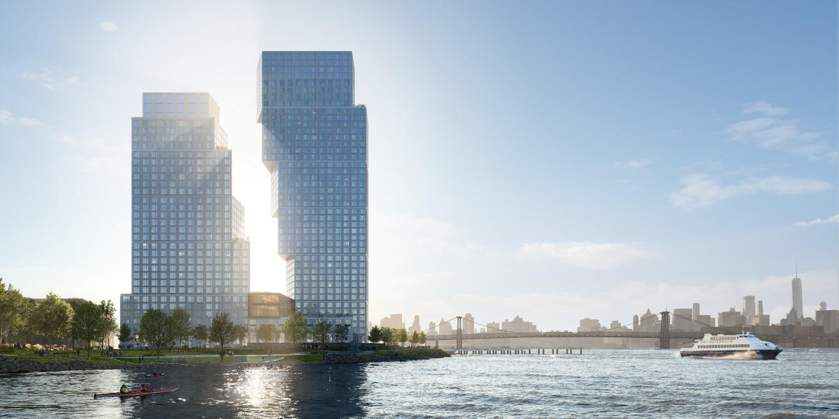 The Greenpoint Landing project is being developed by Brookfield Properties and is due to begin construction in August